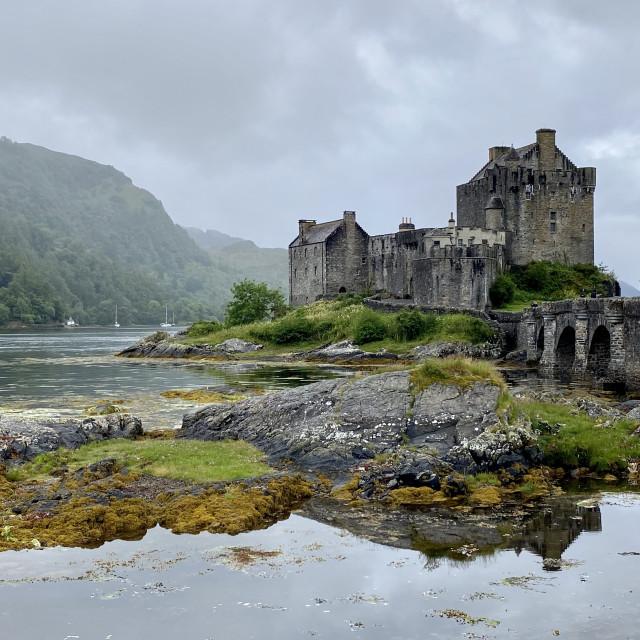 """Eilean Donan Castle"" stock image"
