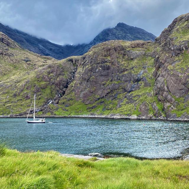"""Loch Coruisk"" stock image"