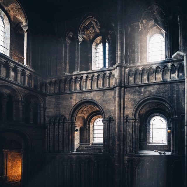 """""""Ely Cathedral, Cambridgeshire UK."""" stock image"""