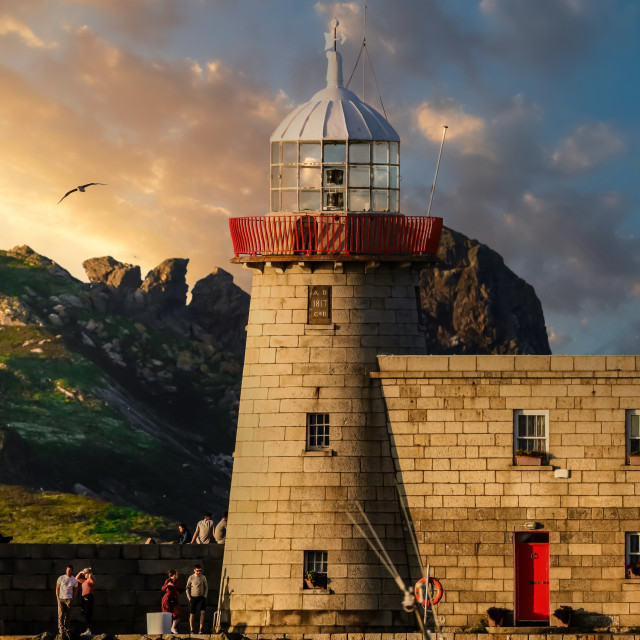 """""""Howth Lighthouse"""" stock image"""
