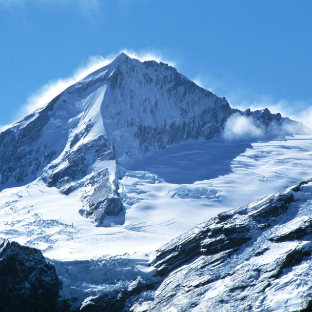 """""""Mount Aspiring"""" stock image"""