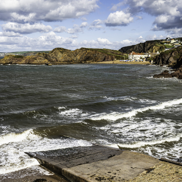 """South Devon - Hope Cove"" stock image"