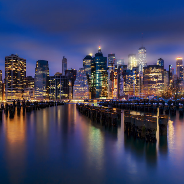 """Lower Manhattan"" stock image"