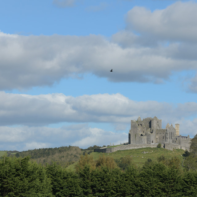 """""""Rock of Cashel, County Tipperary. autumn"""" stock image"""