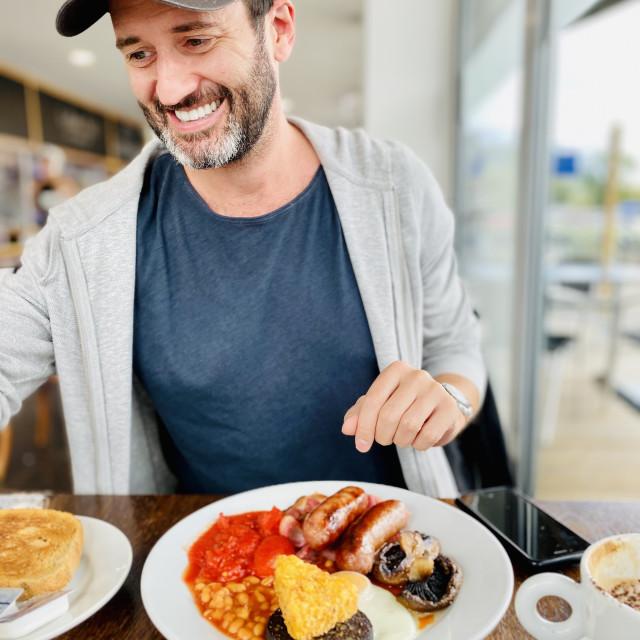 """The Big Breakfast"" stock image"