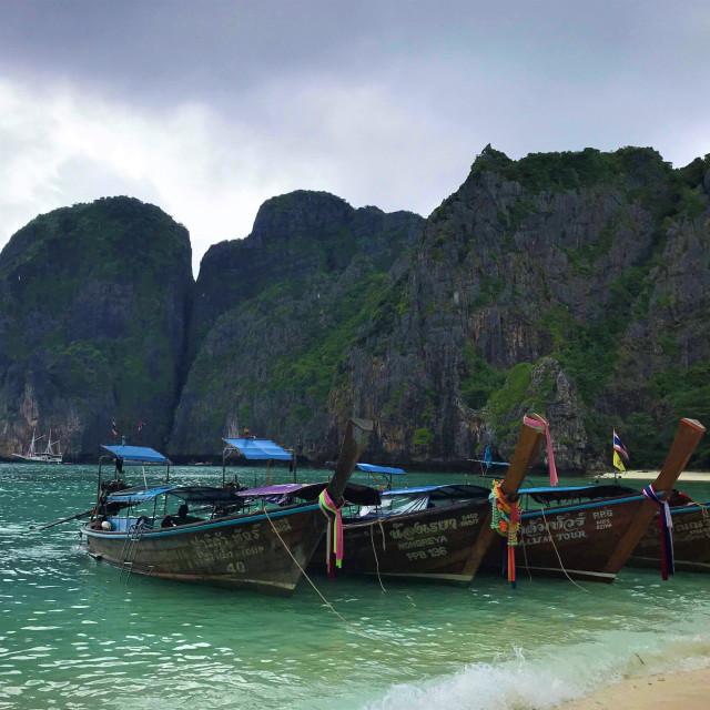 """Koh Phi Phi, Thailand"" stock image"