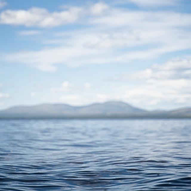 """Closeup on lake"" stock image"