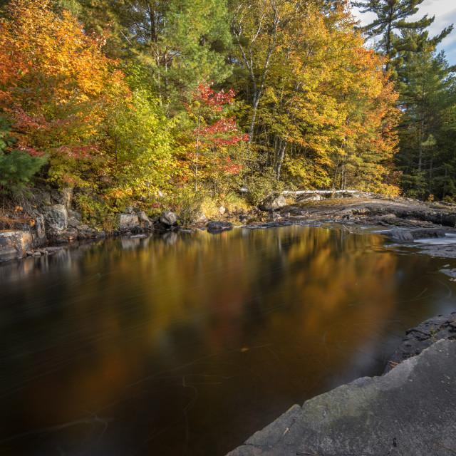 """Rosseau Falls"" stock image"