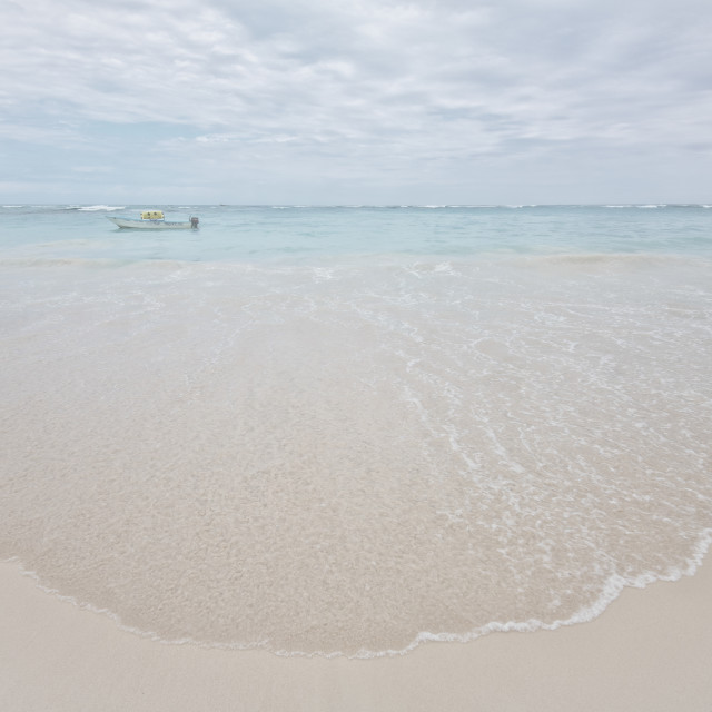 """Caribbean Sea in Punta Cana"" stock image"