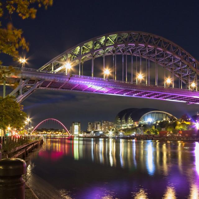 """""""Tyne Bridge, Newcastle"""" stock image"""