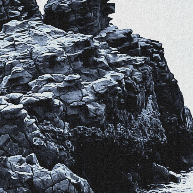"""Basalti colonnari"" stock image"