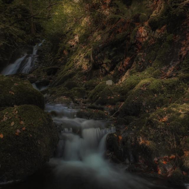 """Woodstock Waterfall"" stock image"
