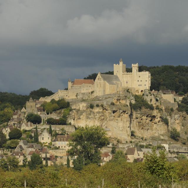 """Chateau Beynac, Dordogne, France"" stock image"