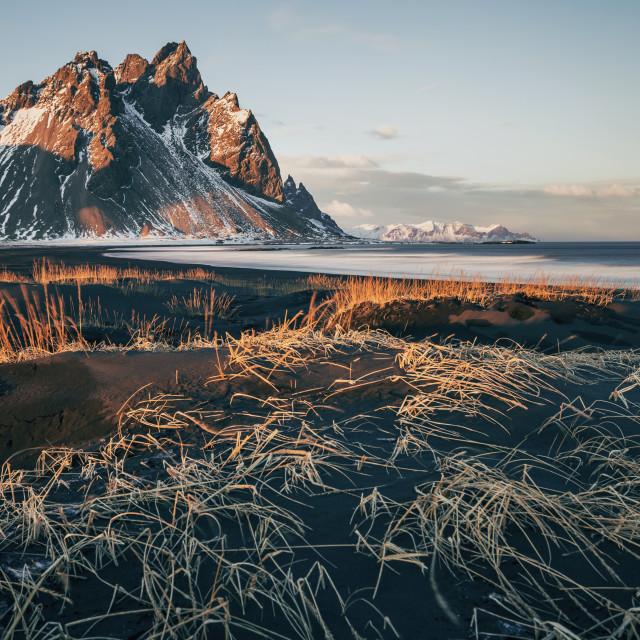 """Nordic sand"" stock image"