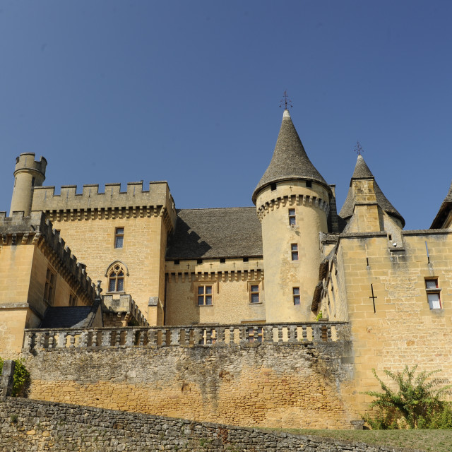 """Chateau Puymartin, Dordogne, France"" stock image"