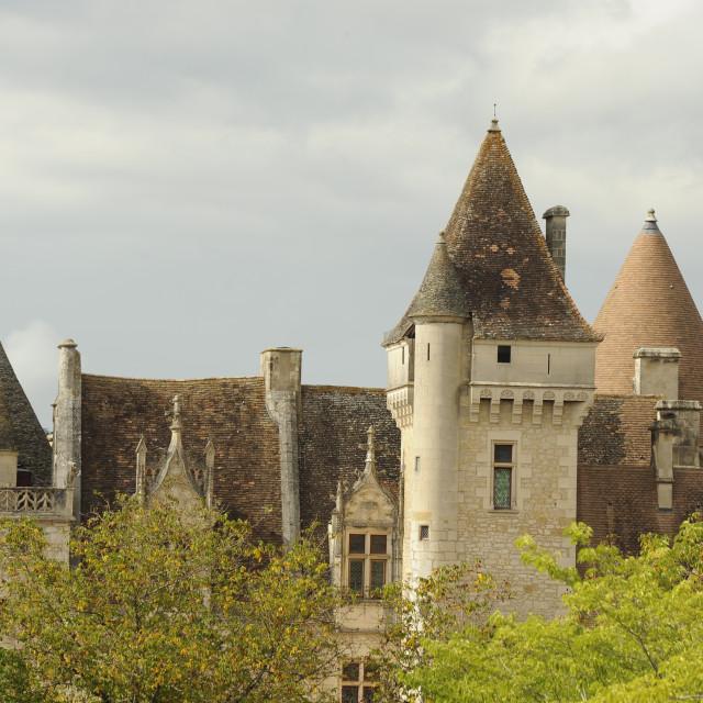 """Chateau Milande, Dordogne, France"" stock image"