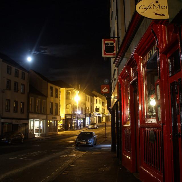 """Blakes pub Enniskillen"" stock image"
