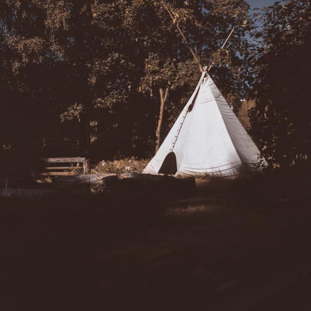 """Tent (Tipi)"" stock image"