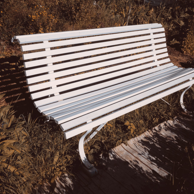 """Garden Bench I"" stock image"