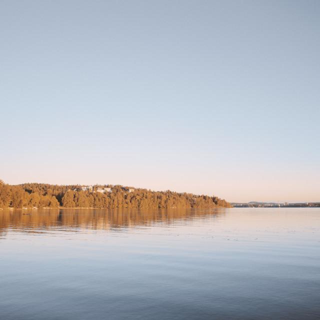 """Autumn Shore II"" stock image"