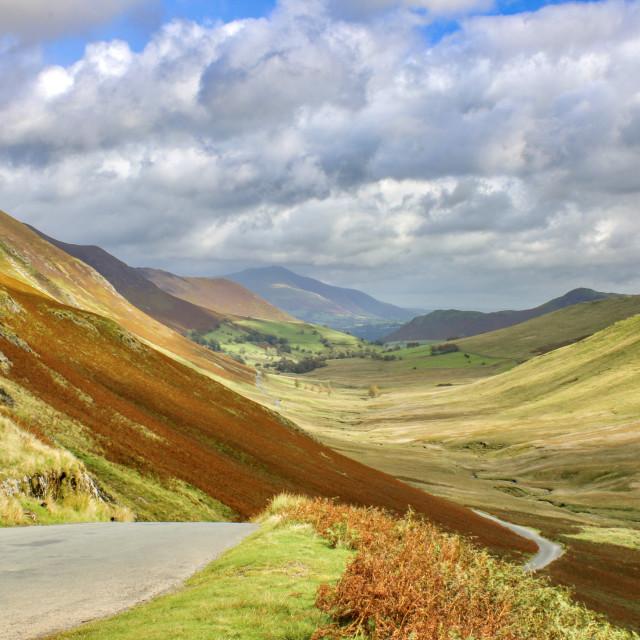 """""""Newlands Pass"""" stock image"""