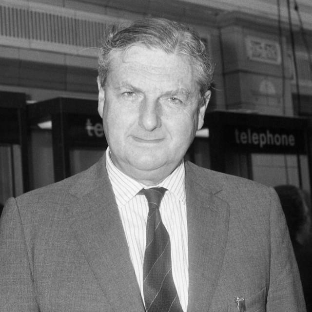 """Sir Patrick Mayhew, politician"" stock image"