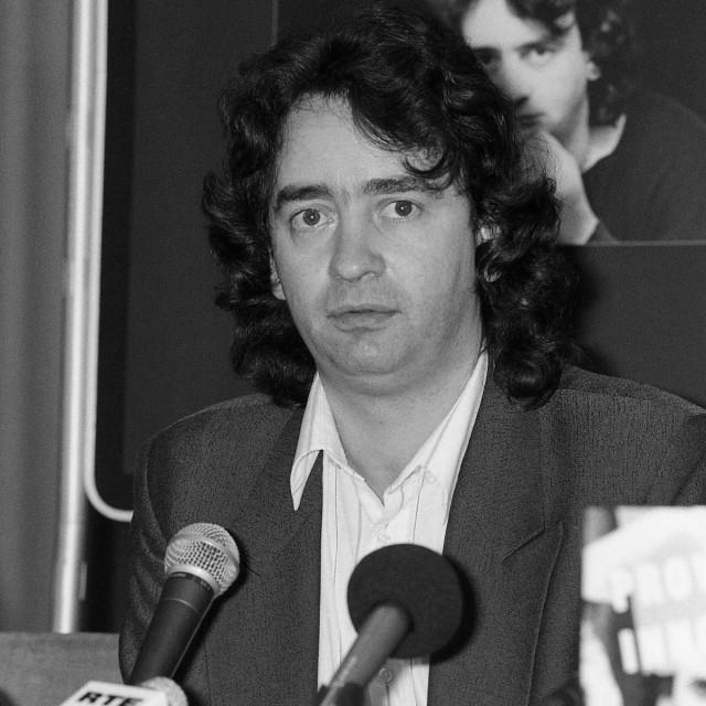 """""""Gerry Conlon book launch"""" stock image"""