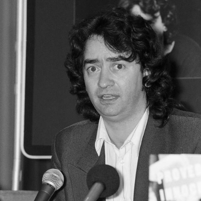 """Gerry Conlon, author"" stock image"