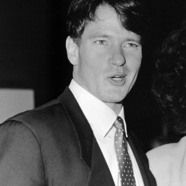 """Gordon Thomson, Canadian actor"" stock image"