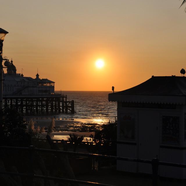 """Sunrise Eastbourne Seafront"" stock image"