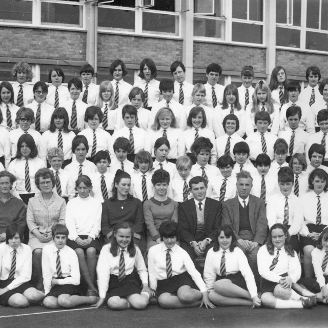 """""""Ely High School For Girls (1967)"""" stock image"""