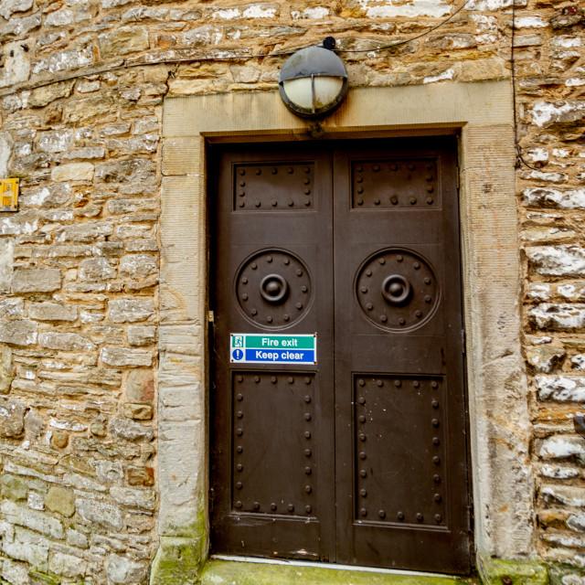 """Friars Wynd, Richmond, UK"" stock image"