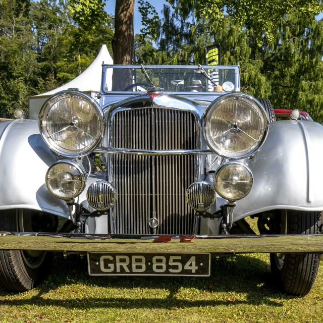 """""""1940 Alvis 25C Speed"""" stock image"""