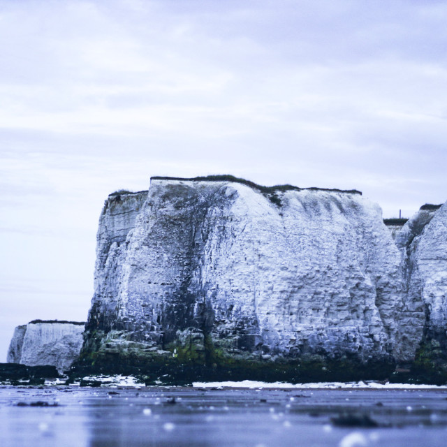 """""""South England Cliffs"""" stock image"""