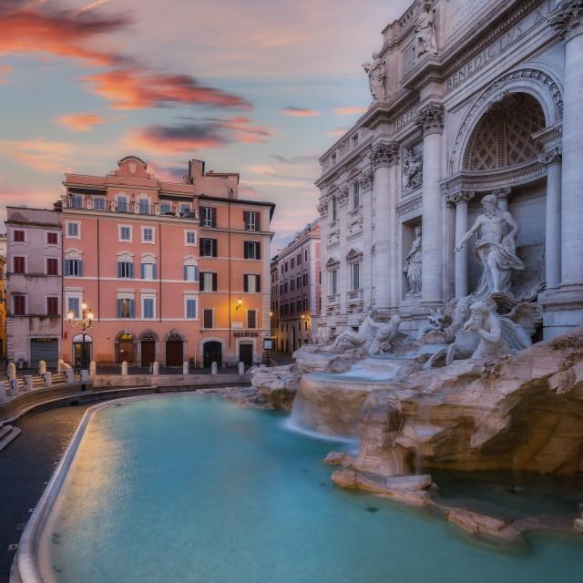"""Fontana di Trevi Roma"" stock image"