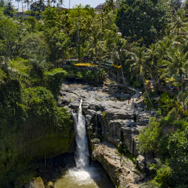 """Tegenungan Waterfall"" stock image"