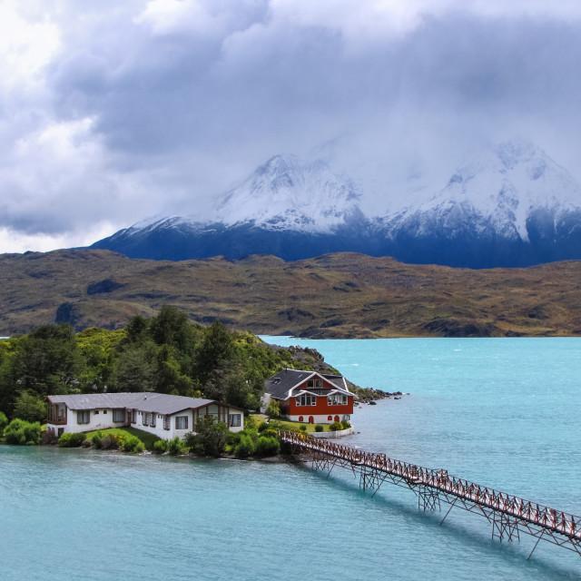 """""""Lago Pehoé"""" stock image"""