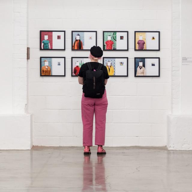 """""""Photoblock Exhibition"""" stock image"""