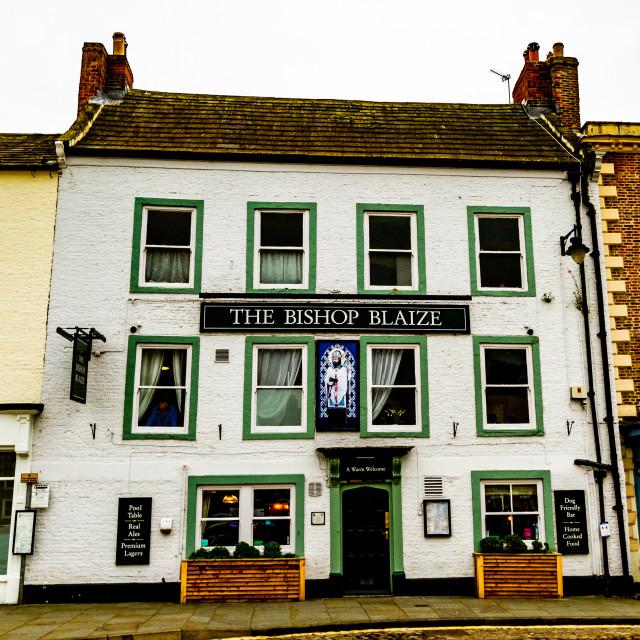 """The Bishop Blaize, Richmond, UK"" stock image"