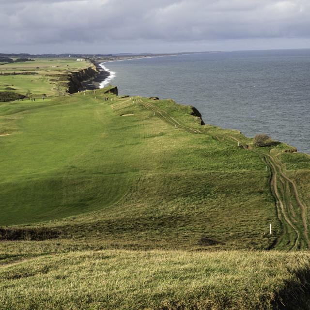 """UK - Norfolk - Northern Coastal Path"" stock image"