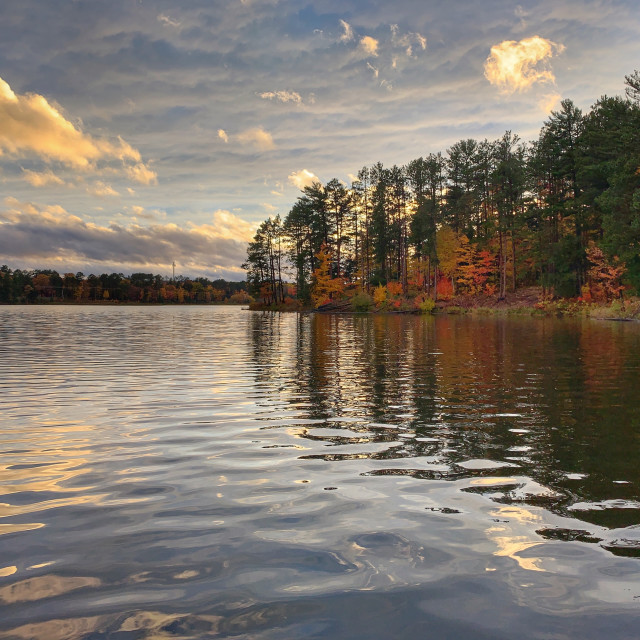 """""""Fall's shores"""" stock image"""