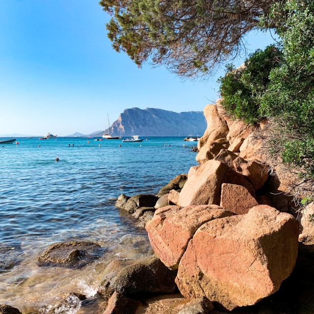 """""""Sardinia Coast"""" stock image"""