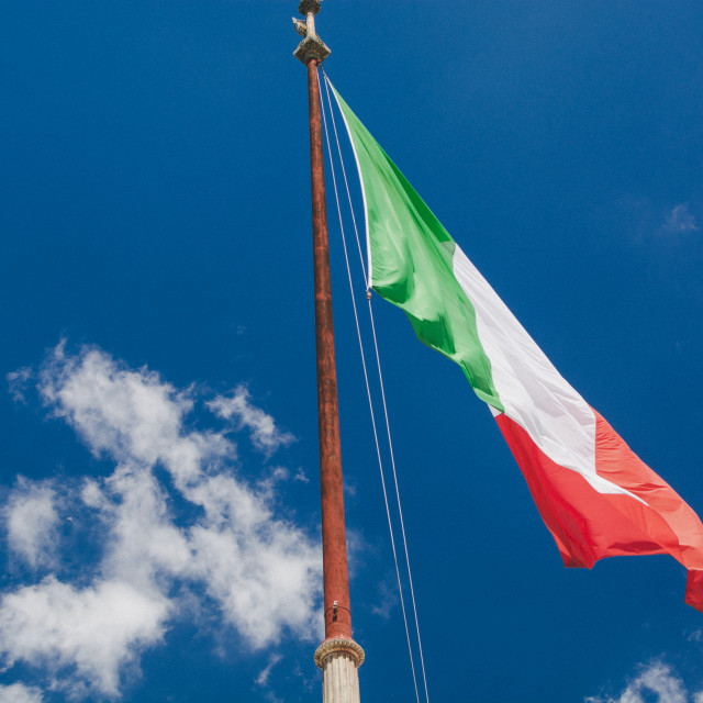 """Itallian Flag"" stock image"