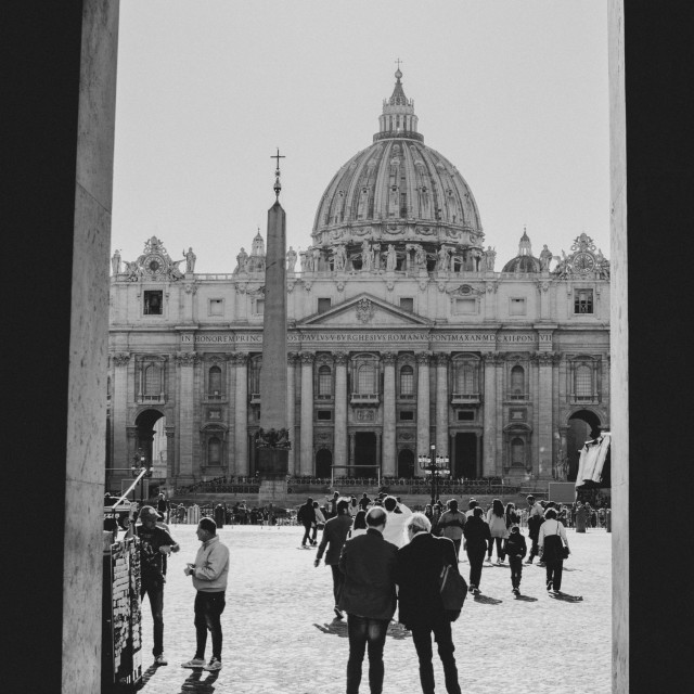 """""""St. Peter's Basilica - Rome - Italy"""" stock image"""