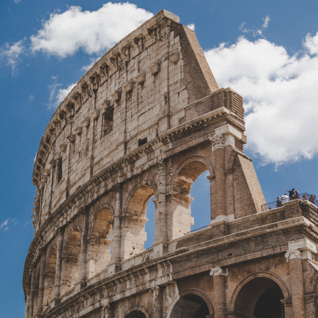 """""""Colosseum - Rome - Italy"""" stock image"""