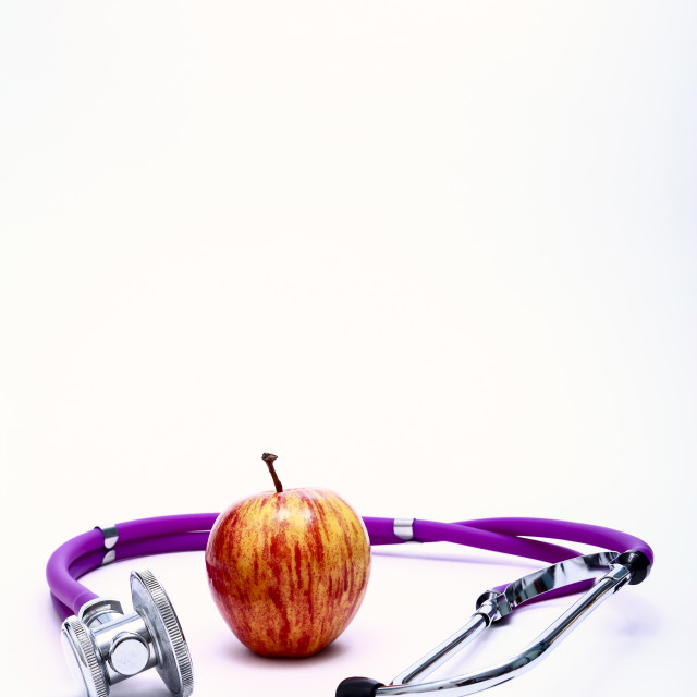 """""""Conceptual healthy eating image"""" stock image"""