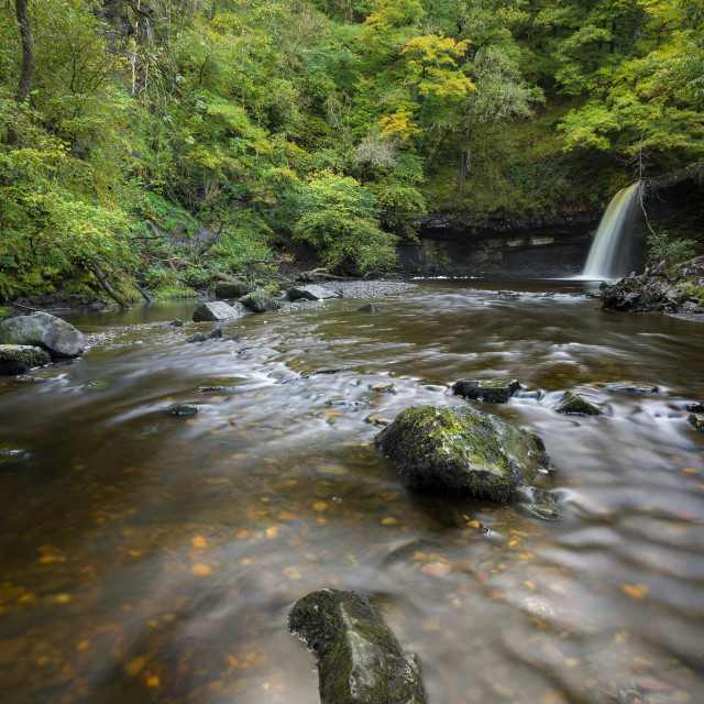 """Sgwd Gwladus waterfall"" stock image"