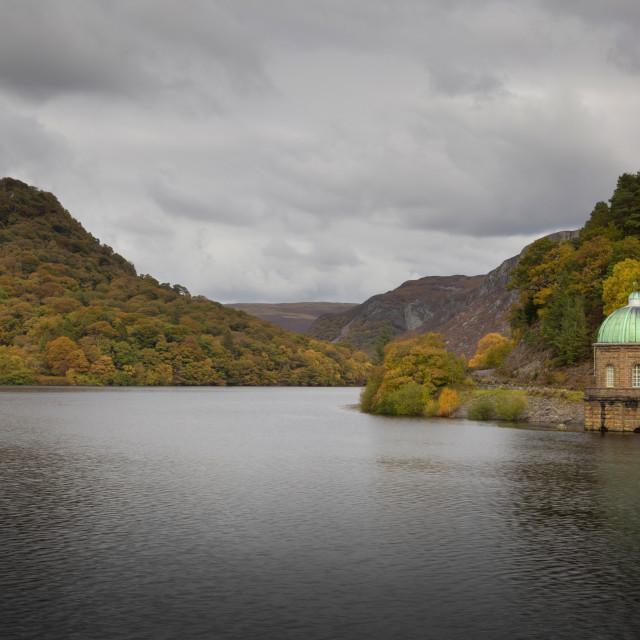 """""""The Carreg Ddu reservoir"""" stock image"""