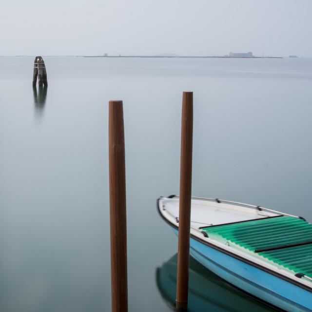 """Serenity at Murano"" stock image"