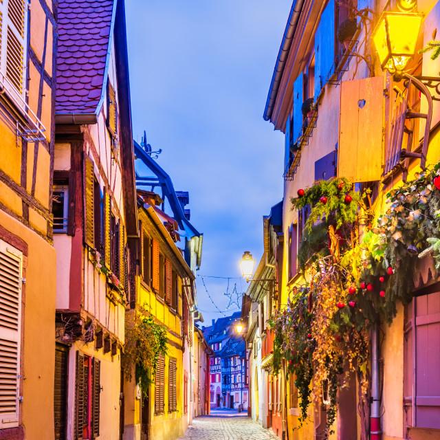 """Colmar, Alsace, France - Little Venice"" stock image"